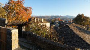 Dilofo stone village in Zagori, Pindus