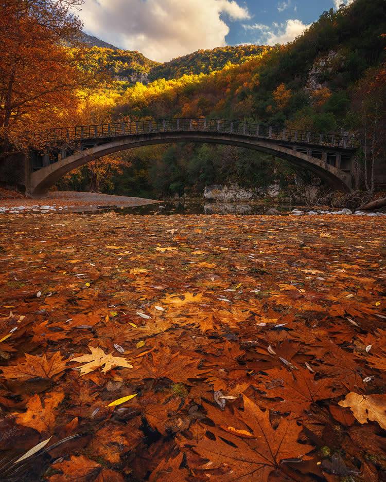 Γέφυρα στο Βοϊδομάτη, Ζαγοροχώρια | Αλέξανδρος Μαλαπέτσας