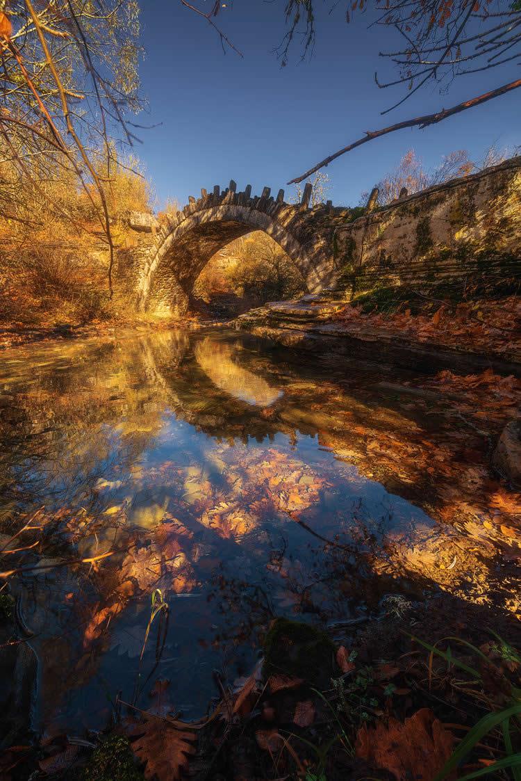 Γεφύρι τού Καπετάν Αρκούδα, Ζαγοροχώρια | Αλέξανδρος Μαλαπέτσας